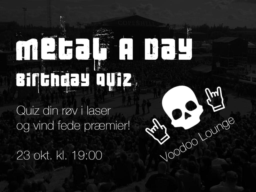 Vi quizzer til fødselsdagen!!
