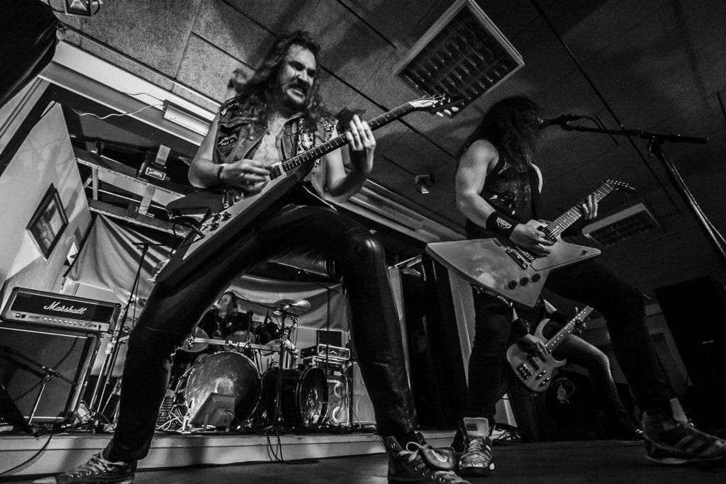 Impalers - Metal i Forsamlingshuset. Foto: Marika Hyldmar