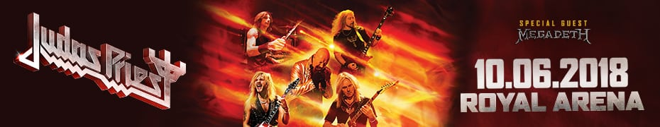 Judas Priest & Megadeth at Royal Arena